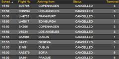 Вулкан вызвал отмену более 60 тысяч рейсов